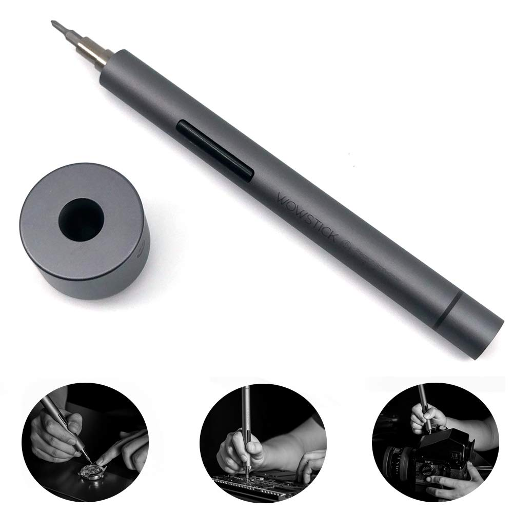 Wowstick 1P/ 1F Pro Upgrade Version Electric Screwdriver 64 In 1 Set Cordless Charging Mobile Phone Camera Notebook Repair Kit