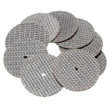 25 шт./лот диск для резки металла Dremel шлифовальный станок вращающееся дисковое пильное лезвие Dremel шлифовальный диск для резки