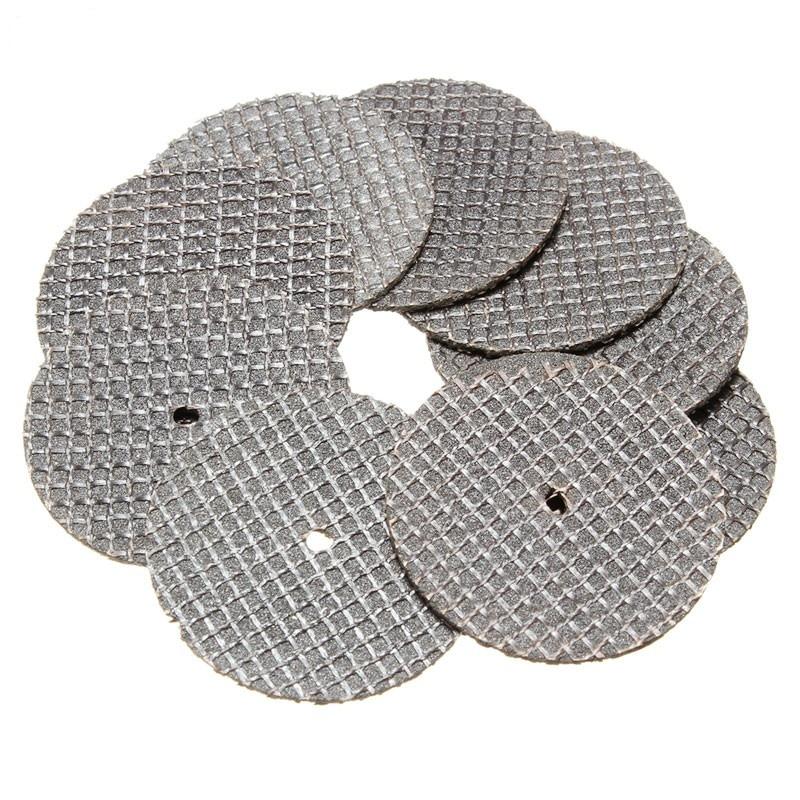 25pcs/lot Metal Cutting Disc For Dremel Grinder Rotary Circular Saw Blade Dremel Wheel Cutting Sanding Disc
