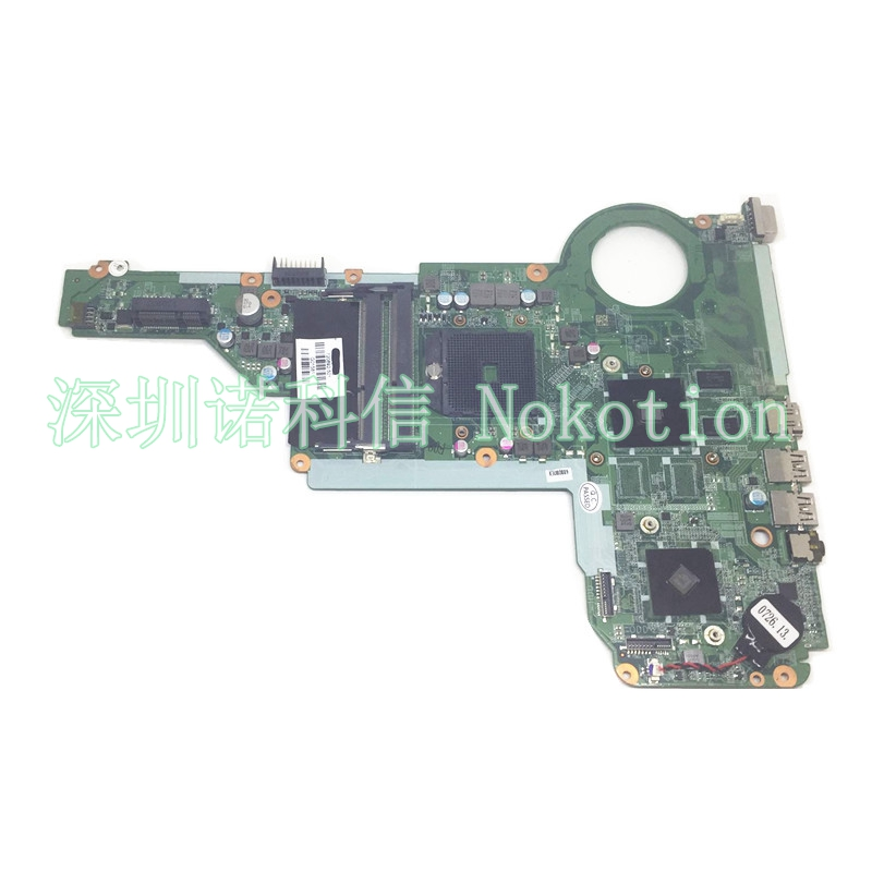 NOKOTION 720692-501 720692-001 Laptop Motherboard For HP Pavilion 15-E 17-E DA0R75MB6C0 Mainboard Socket fs1 DDR3 1GB Video Card