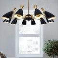 Современная светодиодная люстра  Скандинавская столовая  для кухни  точечный светильник  дизайнерские подвесные лампы  Avize Lustre Lighting