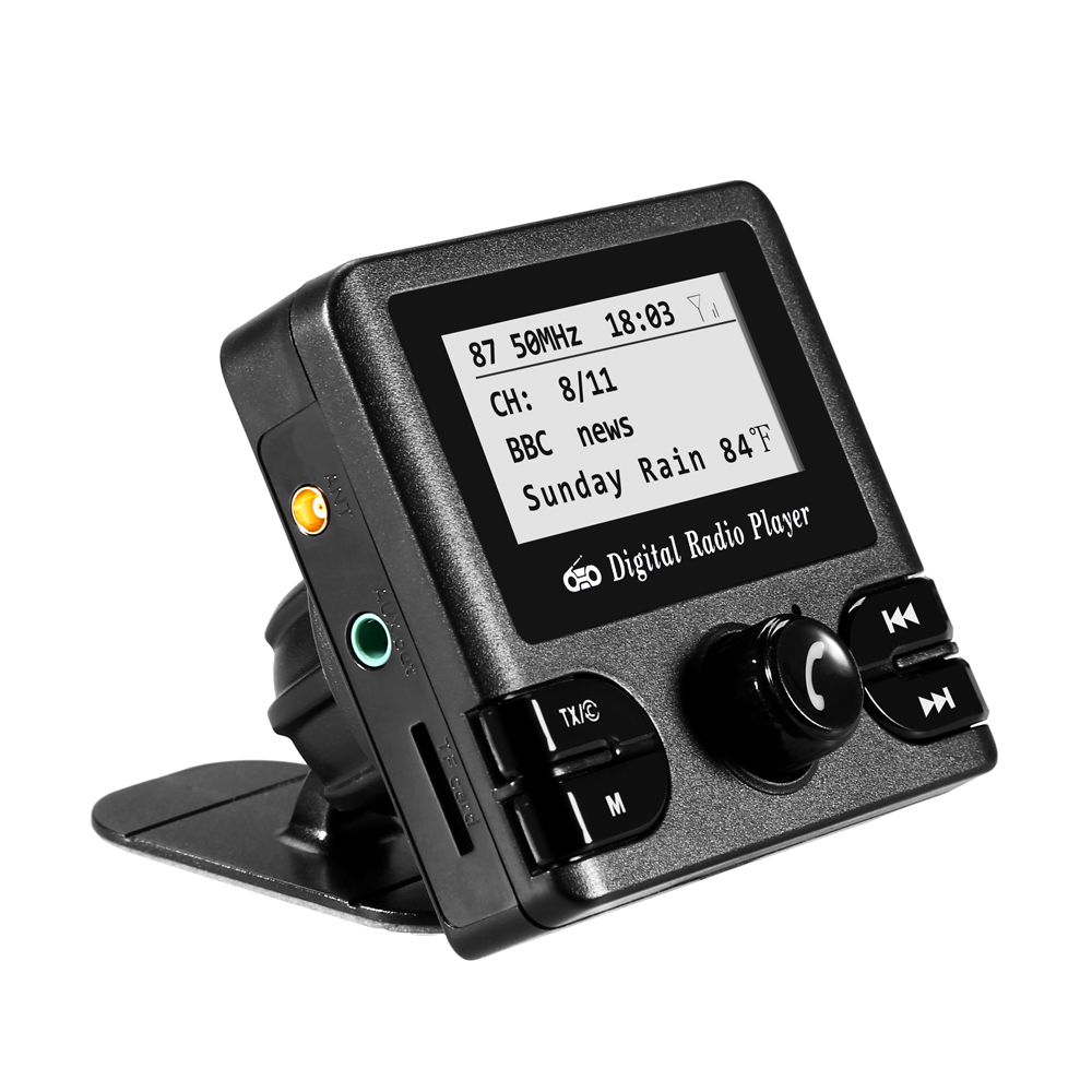 Adaptateur Radio numérique DAB récepteur Autoradio Bluetooth avec antenne de Transmission FM lecteur MP3 Autoradio Automobiles multimédia