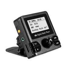 DAB Digital Radio Adapter Bluetooth Car Radio Receiver with FM Transmission Antenna MP3 player Autoradio Automobiles Multimedia car dab receiver with am fm rds bluetooth mp3 4x45w dhl prompt delivery