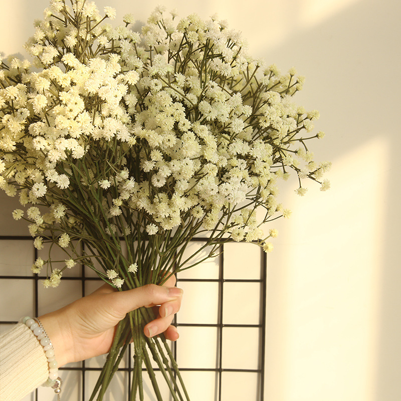 1PCS 65cm Rustic Artificial Flower Interspersion Mantianxing Decor for Home Table Wedding Flower Gypsophila Flower