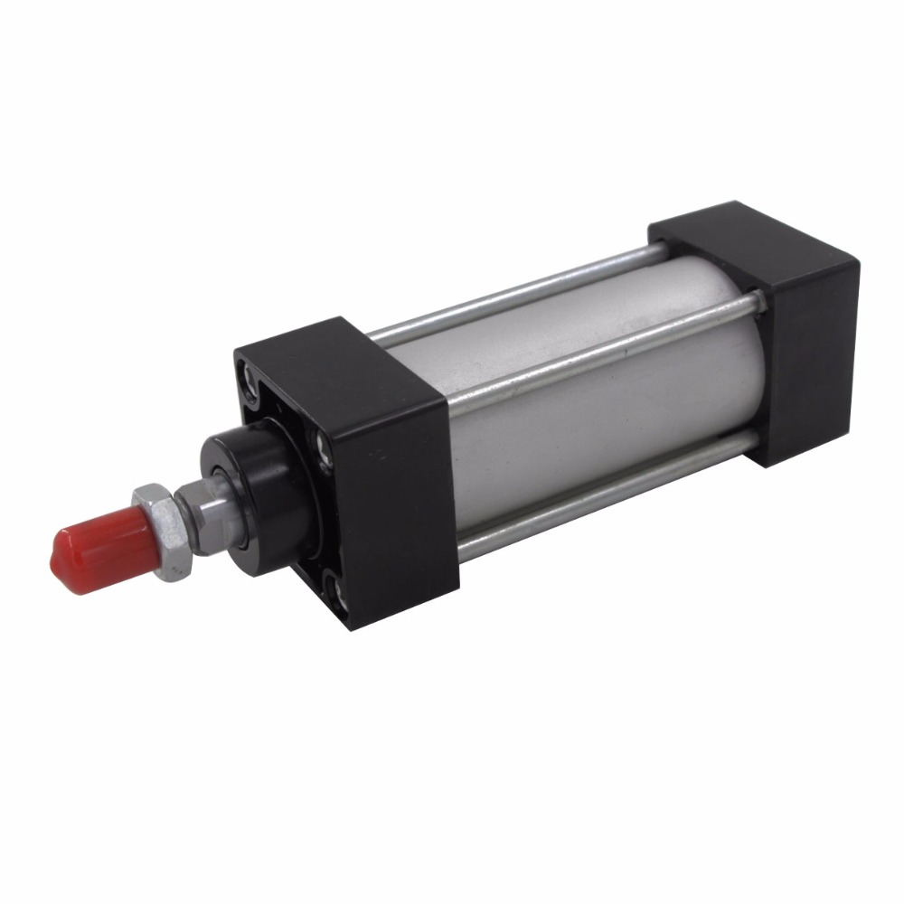 SC Type Aluminum Alloy 32mm Bore 25/50/75/100/125/150/175/200/250/300mm Stroke Double Action Pneumatic Air Cylinder sc type 63mm bore 25 50 75 100 125 175mm stroke aluminum alloy air cylinders single rod sc pneumatic cylinder