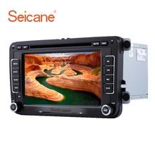 Seicane 2DIN universal 7″ 800*480 Wince CE 6.0 GPS Bluetooth Car FM Radio DVD Player For VW Polo Golf SKODA SEAT Support SD DVR