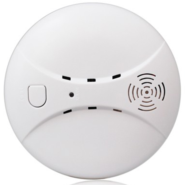 433MHz Wireless Smoke Detector Fire Sensor For G18 W18 GSM WiFi Security Home alarm system Auto Dial alarm Systems|Smoke Detector| |  - title=