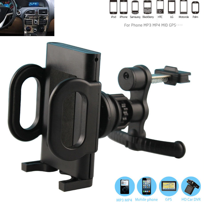 Rotary plastic Car Air <font><b>Vent</b></font> <font><b>Clip</b></font> GPS <font><b>Cell</b></font> <font><b>Phone</b></font> Mounts HOlders Stands For Huawei Y5 (2017),alcatel Flash (2017),BQ Aquaris X Pro