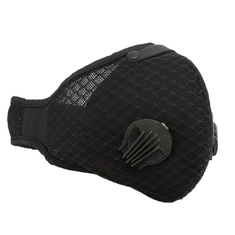 Máscara antipolvo de trabajo con filtro de carbono