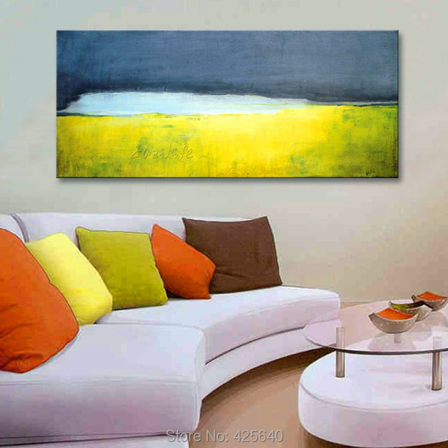 Calmness Acrylic Paint Home Decoration Oil Painting on canvas hight ...