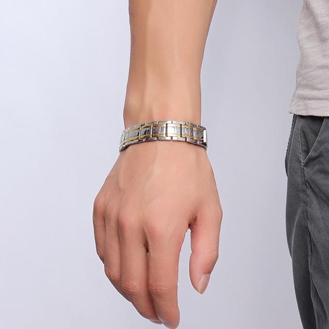 Stainless Steel Healthy Magnet Bracelet