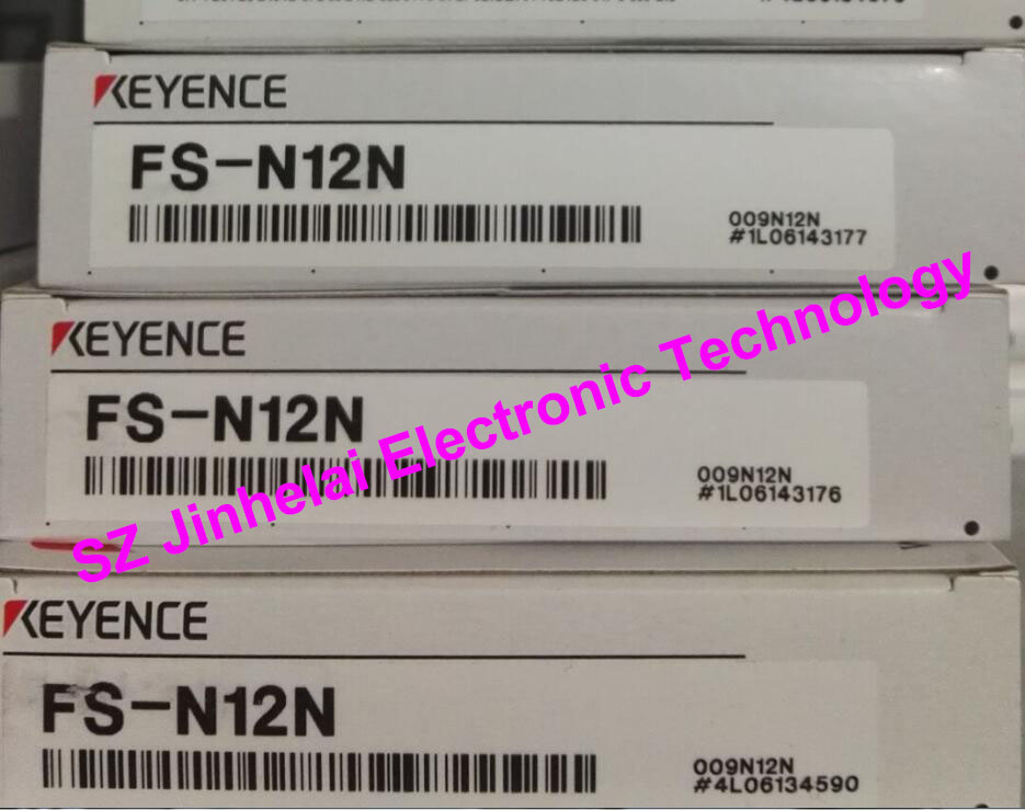 New and original FS-N12N  KEYENCE Optical fiber amplifier  NPN output e3x hd10 new and original ormon photoelectric switch optical fiber amplifier 12 24vdc 2m