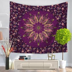 Flower / City Printed Home Decoration Tapestry Wall Hanging Tapestries Beach Throw Towel Picnic Blanket Mat