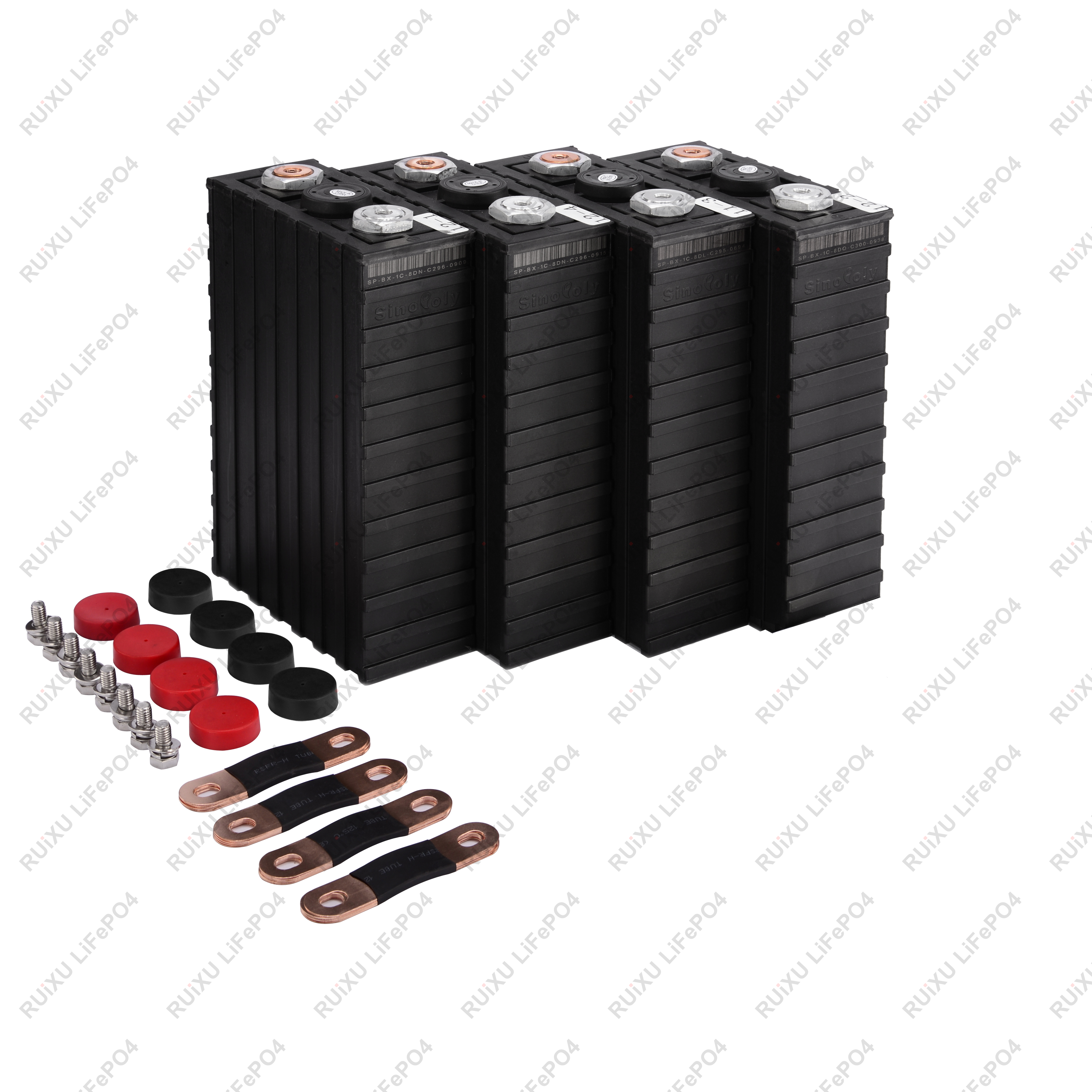 Sinopoly 12V 100Ah Lithium Iron Phosphate Battery Pack, Light Weight LiFePO4 Battery for RV, Solar, Marine image