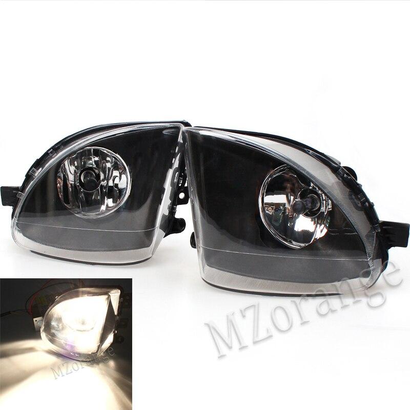 MZORANGE Fit for 2009-2013 BMW F10 F18 5 Series 520li 523li 525li 528li 530li Fog Lights Front Lamps With Bulb High Quality pair new high quality front fog lamp lights driving lamps clear lens car styling for bmw e39 5 series 2001 2003