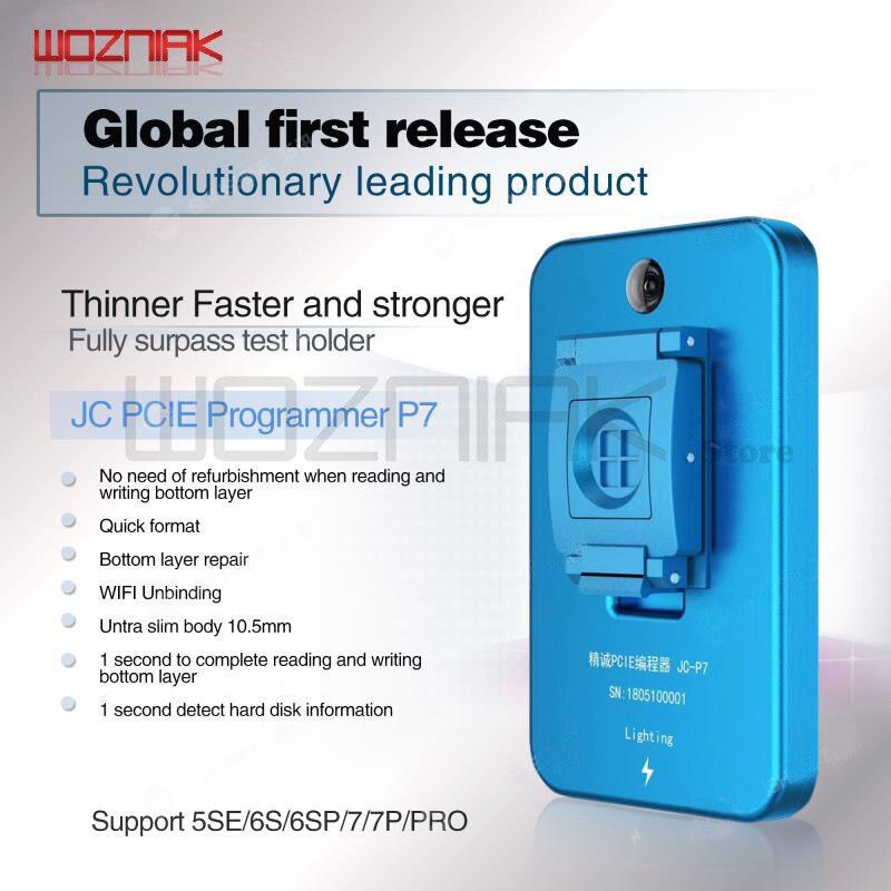 JC JC Pro1000S P7 PCIE HDD SN Read Write NAND Programmer 32/64 Bit Ferramenta Para iPhone 7 7 P 6 6 6S P 6SP 5 4 Todos iPad Reparação