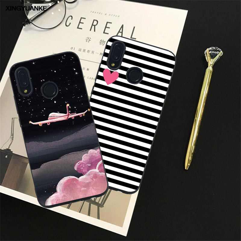 For Huawei Mate 10 Pro Mate 9 Lite Nova 2 Lite 2i Nova Lite 2 Smart Honor 6C 8 Pro V9 Play V10 Fashion Love Heart Case Covers