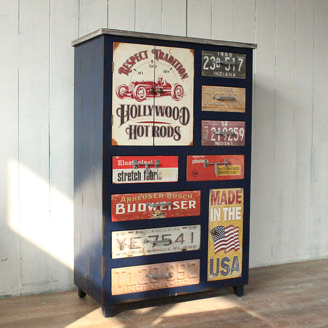 Superbe American Country To Do The Old Retro Creative Letter US License Plate  Drawers More Nostalgic Furniture