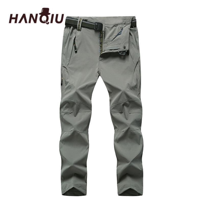 HANQIU Male Pants Outwear Joggers Men Loose Plus-Size 8XL Autumn Soft Comfortable Quack