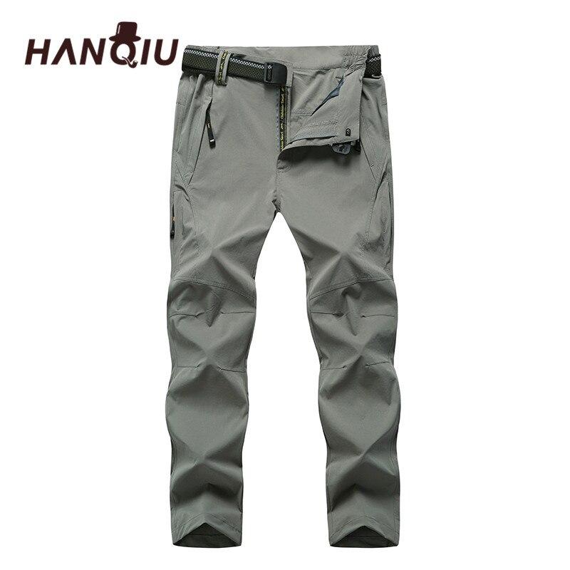 HANQIU Plus Size 8XL Quack Dry Pants Men Loose Outwear Male Pants Autumn Joggers Soft Comfortable Men Pants