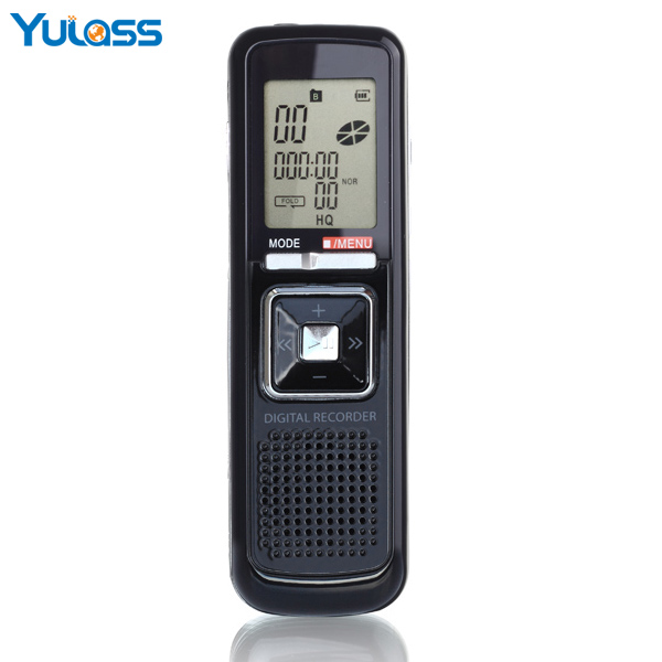 Yulass New Product of 8GB Digital Voice Recorder Pen Portable Two Channel Stereo Recorder Support LINE