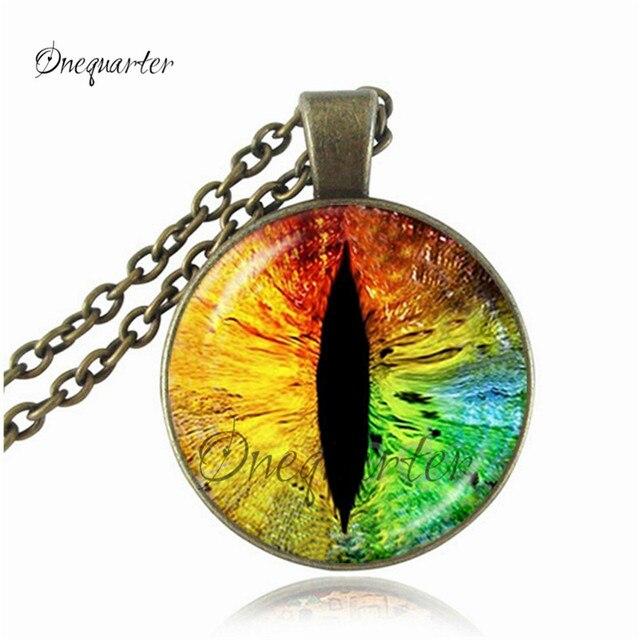 ce2e86f2424950 fashion dragon eye necklaces cat eye pendant evil eye jewelry glass  cabochon choker necklace pendant silver chain necklace