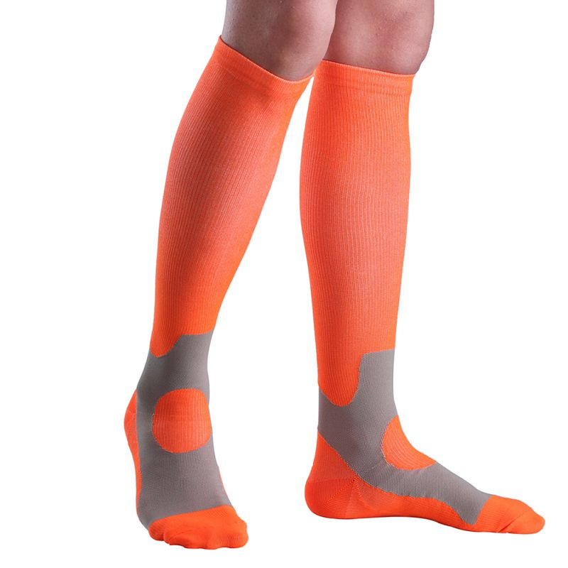 1 Pair Unisex Long Compression Socks Running Marathon Sports Cycling Climbing Breathable Deodorant Basketball Socks Stockings