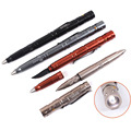 Functional Novelty Lights Tactical Led Pen Aluminium Alloy Self defense Pen with Led Light and Knife blade