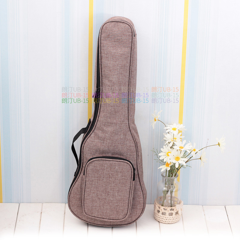 Thicken Soprano Concert Tenor Ukulele Bag Case Backpack Handbag 21 23 26 Inch Ukelele Blue Mini Guitar Accessories Color Gig 12mm waterproof soprano concert ukulele bag case backpack 23 24 26 inch ukelele beige mini guitar accessories gig pu leather