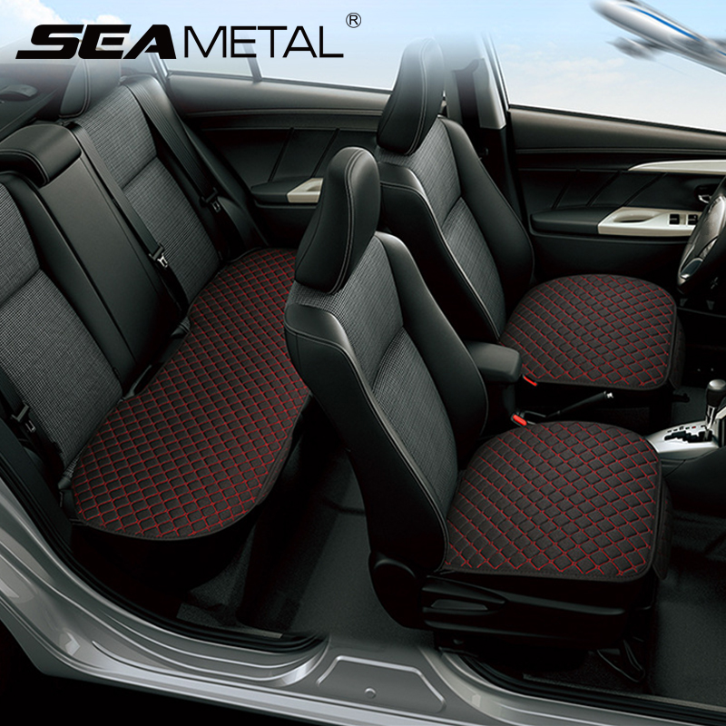 Image 5 - Car Accessories Car Seat Cover Flax Car Seat Protector Cushion Automobiles Seat Covers Set Universal Interior Auto Accessories-in Automobiles Seat Covers from Automobiles & Motorcycles