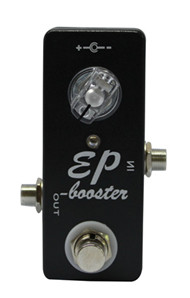 Great Boost Pedal Clean Booster Mini Clean Booster Pedal  Guitar Effect Pedal   And True Bypass-Black