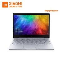 ปรับปรุงXiaomi Miแล็ปท็อปโน๊ตบุ๊คอากาศจดจำลายนิ้วมือIntel Core i5-7200U CPU 8กิกะไบต์DDR4 RAM 13.3นิ้วหน้าต่างแสดงผล10