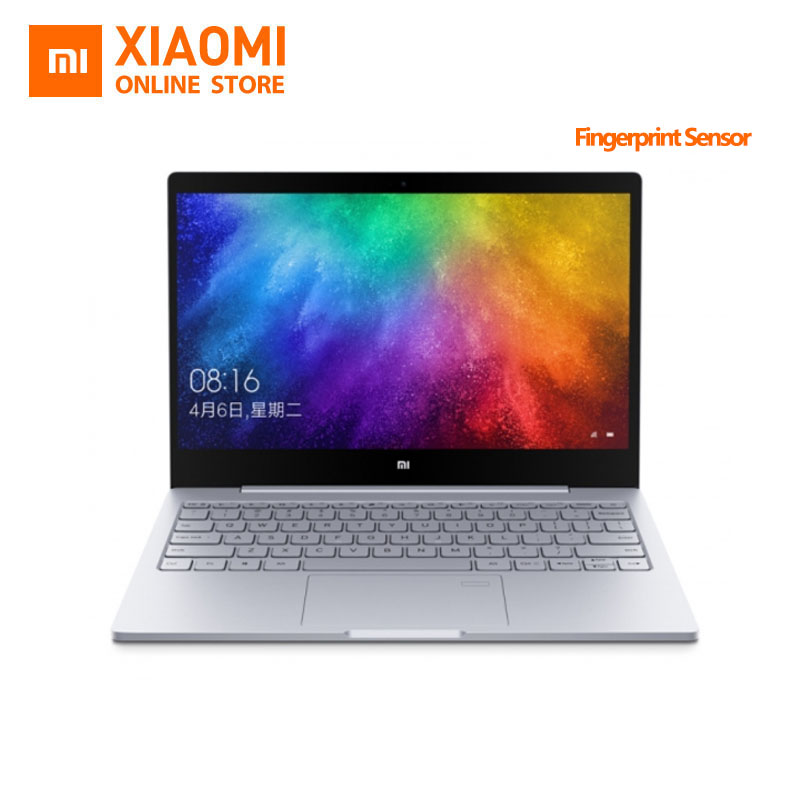 Updated Xiaomi Mi Laptop Notebook Air Fingerprint Recognition Intel Core i5 7200U CPU 8GB DDR4 RAM 13.3inch display Windows 10