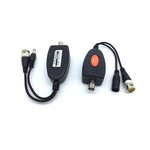 Image 5 - 1 канальная система Power Over Coax для камер видеонаблюдения Ahd/Cvi/Tvi Video + блок питания коаксиальный Hd видео передатчик до 400 м