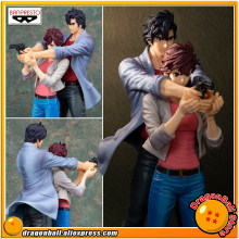 "Japão Anime ""Movie City Hunter"" Criador x Criador Coleção Figura Banpresto Originais-Ryo Saeba + Kaori Makimura(China)"