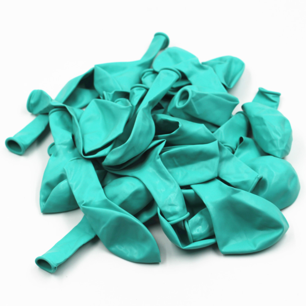Tiffany Blue Balloons 20pc 10 Inch Thick 2.2 g Birthday Ballons Decorations Wedding Ballons Tiffany Blue Globos Party Wholesale