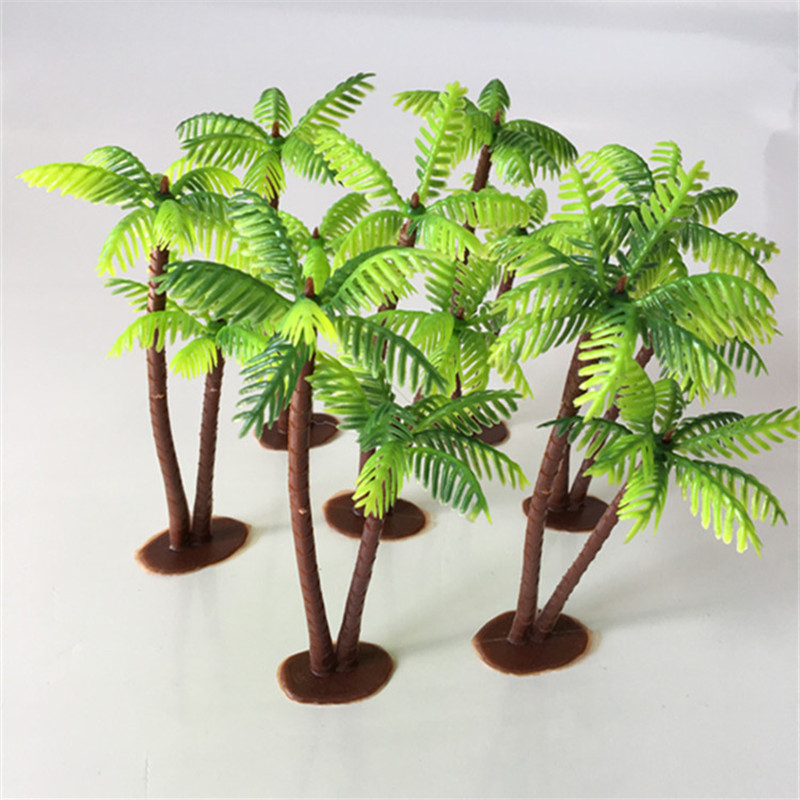 Grass Artificial Fake Plants Plastic Flower Trees Home Table Decor Rock Potted