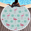 Round Patterned Beach Towel - Cover-Up - Beach Blanket 13