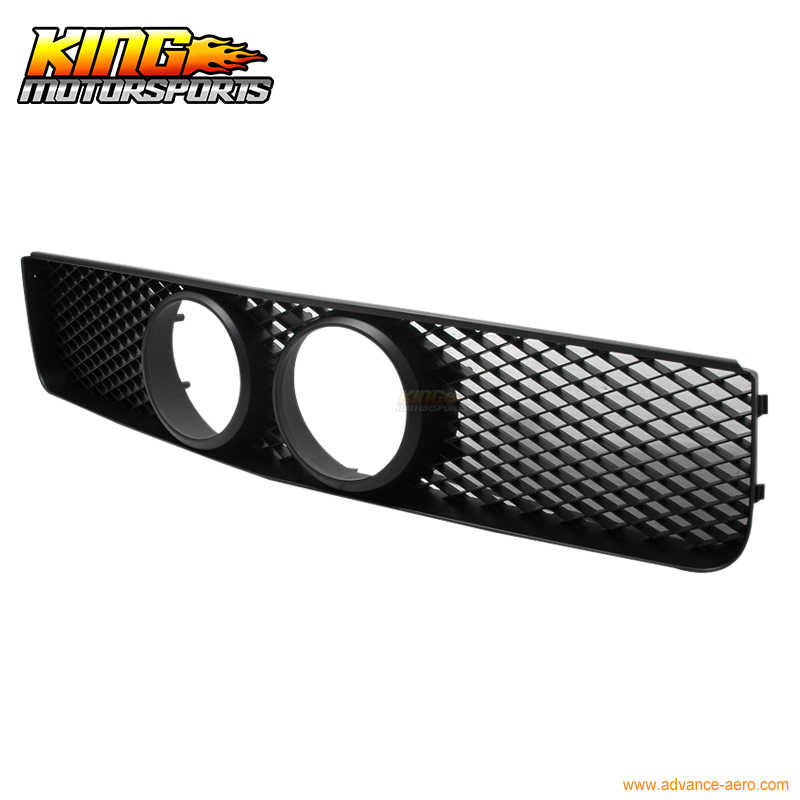 For 05-08 Ford Mustang GT Mesh BLK Front Grille WithFog Hole USA Domestic  Free Shipping Hot Selling