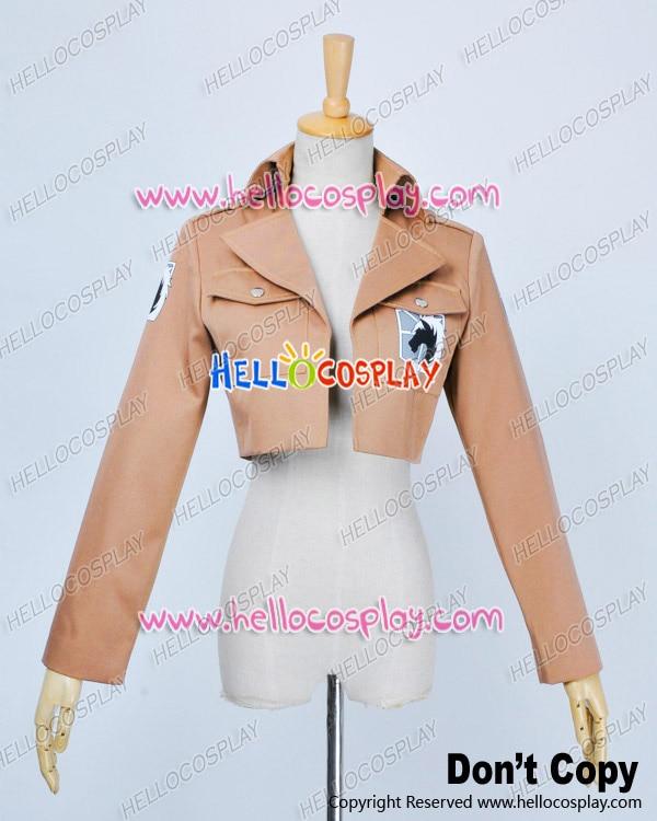 Attack On Titan Shingeki No Kyojin Cosplay Constitution Legion Costume Coat Jacket Premade Standard H008