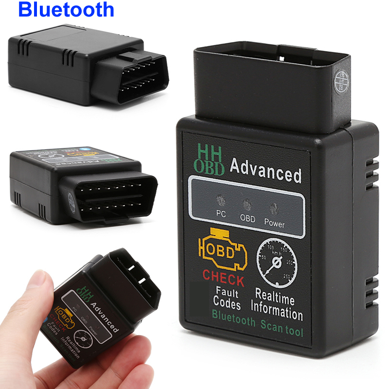 Car Auto Bluetooth Diagnostic Interface Scanner for ELM327 OBD2 OBDII Android