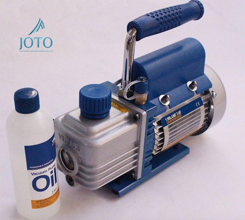 FY 1H N Electrical Mini 220V Rotary vane Single stage Vacuum Pump With Machine Oil 150W