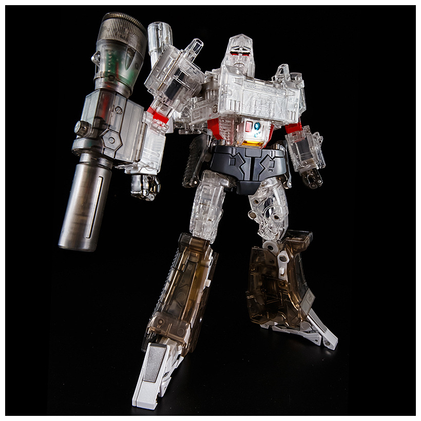 25cm KBB MP36 Transformation THF-03T Transparent MPP36 G1 MP36 Gun Styles Alloy Oversize Collection KO Action Figure Robot Toys thf 51 thf 51s