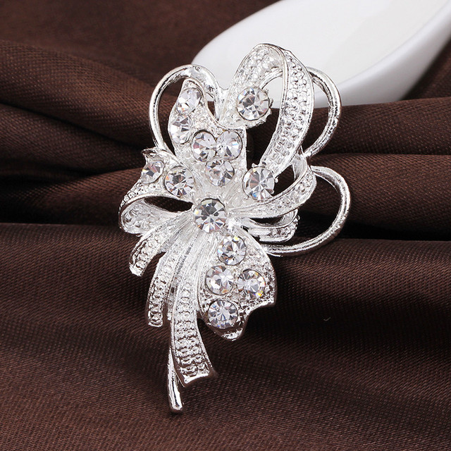 Unique Rhinestone Brooch Pins