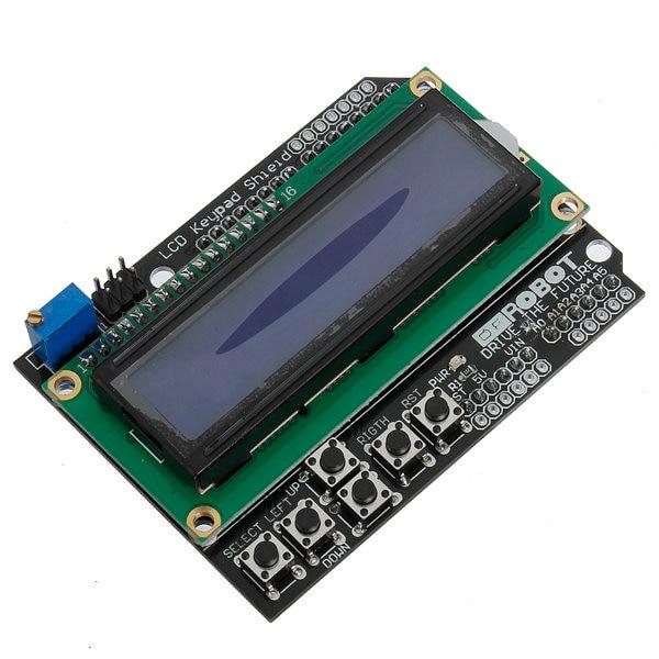 5Pcs Keypad Shield Blue Backlight For font b Arduino b font Robot font b LCD b