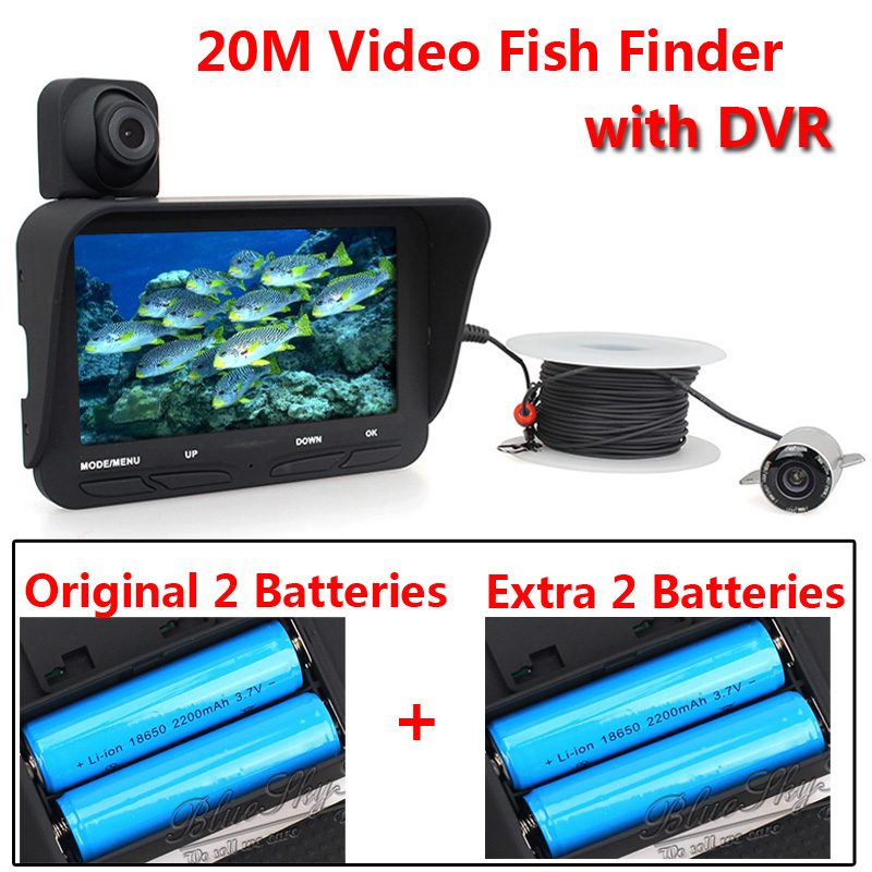 20m Professional font b Night b font font b Vision b font Fish Finder DVR Video