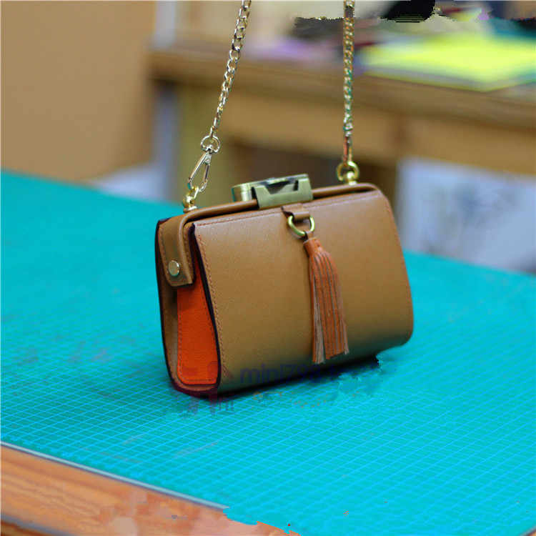 98debd53ac3d Ручной работы из кожи DIY сумки Повседневная кожаная сумка рисунки 3,38 мм  расстояние CSL