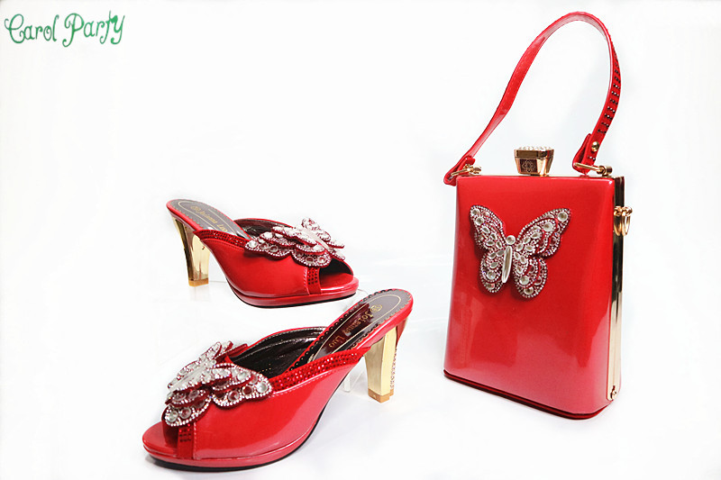 2017 Fashion Italian Woman Shoes With Matching Bags Sets For Party, High Quality Shoes And Bags Set for Wedding G32 fashion italian shoes with matching bags for party high quality shoes and bags set for wedding szie 37 or 43 mhy1 26