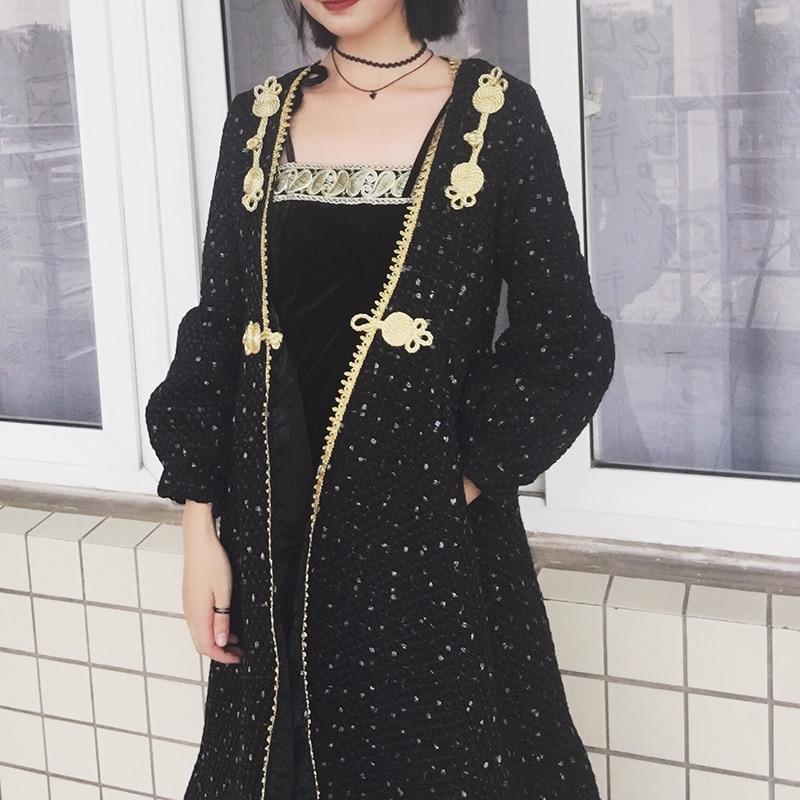 C336 noir gothique victorien Carlos angleterre britannique Punk Rave Poncho Trench Coat reine Robe Robe pour les femmes