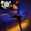 Virar inteligente ON/OFF Sensor Infravermelho Humano LEVOU Faixa de Luz Warm White 3000 K SMD2835 Impermeável Iluminação de Tira Para quarto